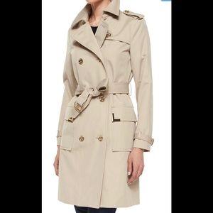 🔥EUC Michael Kors Trench Coat Size Medium 🔥